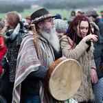Solstice Drummer Druids