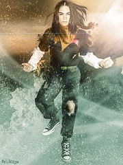Android 17 (ArtNinjaph) Tags: anime clouds composition photomanipulation photoshop effects robot flying fight redribbon artistic wind cosplay battle fantasy cyborg cinematic wrecked dragonballz android android17 visualeffect artninja huntersassociation huntersassociationph artninjaph