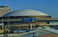 Mercedes Benz Superdome (raymondclarkeimages) Tags: roof usa building sports architecture canon outdoor stadium neworleans arena dome superdome 6d 2470mm louisianasuperdome raymondclarkeimages mercedesbenzsuperdome 8one8studios