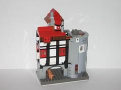 sockel3 (Ze'Cygan) Tags: castle classic pcs lego tudor spire