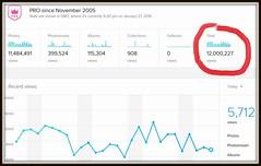 12 million views (Davydutchy) Tags: flickr january stats views million 12 twelve 2016 zwlf douze statistiek twaalf millionen miljoen