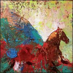 PEGASUS () Tags: horse art painting landscape caballo graphics russia mixedmedia horseracing steed russian cavallo crimea colt stallion ferd potro   krim yegua  krm crimean  russianart equitation        crime  qrm    atlar       tauride      badusev crimeaisrussia   crimeanartist