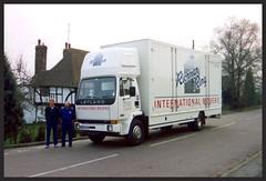 Leyland DAF Freighter 14.13 removal van (SemmyTrailer) Tags: ring richman removals leyland freighter pantechnicon h225dkn