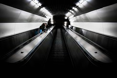 Kisskiss by Parov Stelar (tomabenz) Tags: vienna wien street urban underground photography sony escalator streetphotography vienne streetview urbanexplorer sonya7rm2 a7rm2
