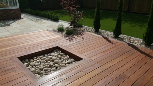 Landscape Gardening Wilmslow -  Decking Paving and Artificial Lawn Image 13