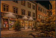 Weihnachtliches Bamberg (rapp_henry) Tags: nightphotography weihnachten nikon bamberg franconia franken nachtaufnahme d800 earthnight tamron1530mm28