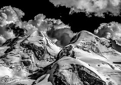 Majesty (BeNowMeHere) Tags: trip travel snow mountains alps nature clouds landscape switzerland suisse sharp glacier gornergrat zermatt matterhorn majesty 500px ifttt