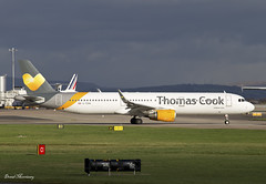 Thomas Cook A321-200 G-TCDH (birrlad) Tags: uk england man airplane manchester airport ramp sofia thomas taxi aircraft aviation airplanes cook terminal apron international airline airbus airways airlines departure takeoff runway airliner departing winglets taxiway a321 a321211 a321200 sharklets gtcdh