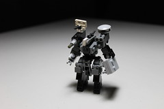 Too late ([C]oolcustomguy) Tags: brick robot big gun arms lego arm drone brickarms droneuary