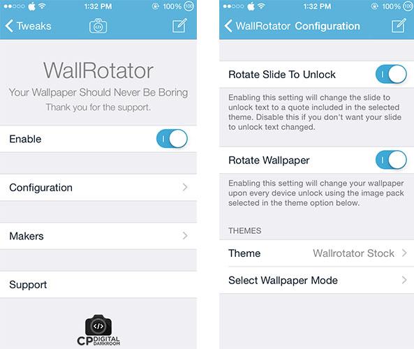 Tweak នេះអាចផ្លាស់ប្តូរ Wallpaper នៅលើអេក្រង់ iPhone ឬ iPad រាល់ពេលអ្នកបើកសោរម្តងៗបាន!