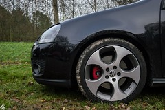 Volkswagen Golf V GTI (N.D pictures) Tags: car sport golf volkswagen photo wheels v gti roue dtail jante