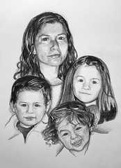Portrait  Familiar (Raceg) Tags: portrait art portraits sketch artist retrato drawings sketchbook manuel draw manu dibujo lpiz grafito manumika ivolmika