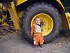 Backhoe wheel toddler