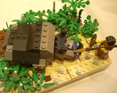 Charging Rhino (Brick Johann) Tags: lego rhino minifig amazonian