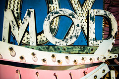 MOD (Sam Scholes) Tags: old trip las vegas vacation graveyard sign museum us peeling paint neon unitedstates lasvegas anniversary nevada weathered neonsign peelingpaint oldsign signgraveyard neonsignmuseum theneonmuseum