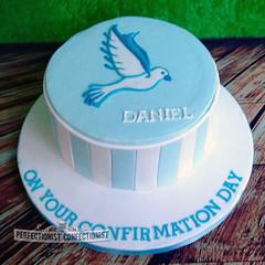 Daniel - Confirmation Cake (PerfectionistConfectionist) Tags: weddingcakes christeningcake cakesnorthcountydublin birthdaycakedublin confirmationcakedublin confirmationdublin bespokecakedublin4