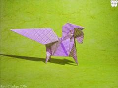 School Study Horse by Barth Dunkan (Magic Fingaz) Tags: horse caballo cheval study cavalo pferd kuda paard   origamihorse barthdunkan