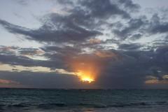 Punta Cana 2015 (CdnAvSpotter) Tags: ocean sky sun water clouds sunrise dominican republic grand bahia punta cana principe bavaro 2015