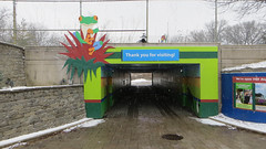 thank you for visiting (timp37) Tags: winter sign zoo for illinois you january thank brookfield visiting 2016