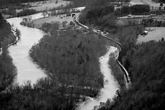 Curves of the French Broad (Peyton Gupton) Tags: mountains train river french nc ns great north norfolk trains line southern carolina smoky broad hotsprings