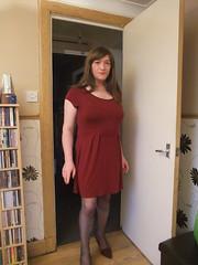 Frisky Saturday (annajblair) Tags: stockings tgirl sissy transvestite trans suspenders crossdresser trap mtf