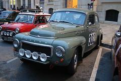 Volvo (CHRISTOPHE CHAMPAGNE) Tags: austin volvo minicooper reims 302 historique pv544 2016 rallymontecarlo