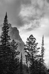 Grand Teton (Valentina Sokolskaya) Tags: trees sky usa storm mountains nature view grandteton