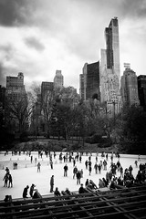 Winter in the Park (DHaug) Tags: nyc newyorkcity sport skyline centralpark manhattan skating tourists getty fujifilm leisure gettyimages newyorkers essexhouse wollmanrink xt1 xf1024mmf4rois