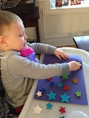 """Paul Plays with Star Stickers • <a style=""""font-size:0.8em;"""" href=""""http://www.flickr.com/photos/109120354@N07/24798690126/"""" target=""""_blank"""">View on Flickr</a>"""