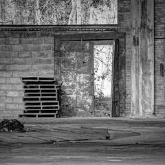 abandoned factory (photography_isn't_terrorism) Tags: bw abandoned rust factory rusty rusted hdr urbex abandonedfactory