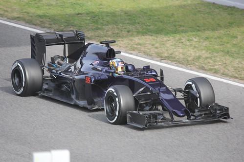 Carlos Sainz Jr in Formula One Winter Testing 2016