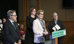 IMG_0808 Premier Kathleen Wynne made an announcement of funding on the Ending Violence Against Indigenous Women Strategy. (Ontario Liberal Caucus) Tags: zimmer aboriginal indigenous meilleur violenceagainstwomen indigenouswomen jaczek maccharles svhap