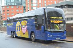 Stagecoach Megabus 54268 YY65VXK (Will Swain) Tags: city uk travel england west bus english buses coach birmingham britain centre transport january vehicles vehicle coaches midland stagecoach midlands 26th megabus 2016 54268 yy65vxk