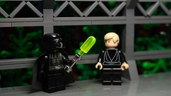 I see you built a new... ice saber? (N-11 Ordo) Tags: 6 classic ice star funny luke scene darth saber wars vader episode trilogy skywalker endor
