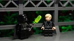 I see you built a new... ice saber? (N-11 Ordo) Tags: 6 classic ice star funny luke scene darth saber wars vader episode trilogy skywalker endor
