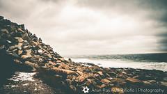 Cape Ann (arunkuchibhotla) Tags: ocean sea snow storm water ma rocks massachusetts sony atlantic ann cape alpha quarry a77