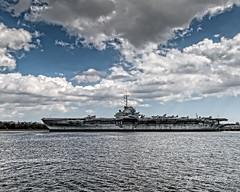 USS Yorktown Splender (augphoto) Tags: history unitedstates military gray mountpleasant southcarolina aircraftcarrier ussyorktowncv10 augphotoimagery