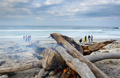 Bonfire At Spanish Bay, Monterey (Basak Prince Photography) Tags: seascape beach coast monterey pacific bigsur highway1 bonfire carmel pebblebeach 17miledrive centralcalifornia spanishbay landscapephotography