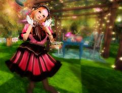 2016 Coordinate 23 (littlerowan) Tags: ribbons tights lolita gloves secondlife egl angelica chus 00 hime petticoat chocolat sallie headdress bloomers ringlets pannier anklesocks deardeer lcky sweetlolita adoreandabhor
