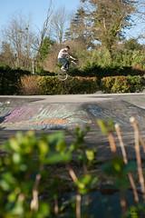 Weelgrab  St Lon les Mines skatepark (Trialxav) Tags: alex bmx freestyle ride style jeune