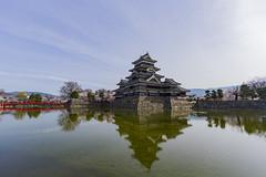 Matsumoto Castle (WonderAkira51) Tags: castle architecture cherryblossoms nationaltreasure