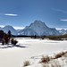 The Oxbow Bend of the Snake River and Mount Moran (Grand Teton National Park)