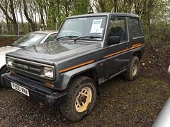 F900 VNV (1) (Nivek.Old.Gold) Tags: diesel 1989 van peterborough dx daihatsu fourtrak 2765cc burghleycars