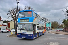 Stagecoach West 16744 R744DRJ - Cheltenham Spa (South West Transport News) Tags: west bus wednesday march d shuttle alexander dennis races 16th spa cheltenham stagecoach scania trident 2016 16744 alx400 enviro400 e40d n230ud r744drj