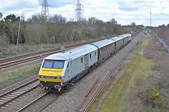 31-03-16 DB Management Train 82146 - 1Z05 St Pancras - Birmingham International (Lukas66538) Tags: london st train birmingham north royal db junction class diamond international management pancras 67 82 stafford jn mk3 82146 67029 1z05