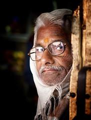 India (mokyphotography) Tags: portrait india men eyes occhi uomo varanasi ritratto viso visi