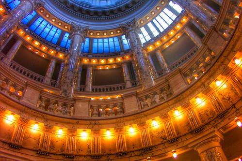 Boise Idaho ~ Idaho State Capitol ~ Dome Skylight ~Historic