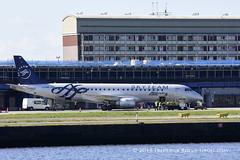 Alitalia ERJ190 ~ EI-RND ( Freddie) Tags: london londoncityairport newham e16 lcy royaldocks eglc runway27