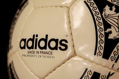 ETRUSCO UNICO UEFA EURO 1992 J-LEAGUE OFFICIAL ADIDAS MATCH BALL SIGNED BY MORIYAMA YASUYUKI OF THE NAGOYA GRAMPUS EIGHT TEAM 13 (ykyeco) Tags: japan by ball football official team fussball euro top soccer ballon nagoya match 1992 bola adidas eight uefa pelota signed moriyama palla balon pallone pilka the grampus unico  jleague omb  yasuyuki etrusco matchball of spielball