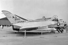 VF-102 F4D-1 Skyray BuNo 139065 (skyhawkpc) Tags: aircraft aviation navy douglas naval usnavy usn 1961 skyray lebourget parisairshow aj101 ussforrestal cva59 139065 f4d1 vf102diamondbacks officialusnavy